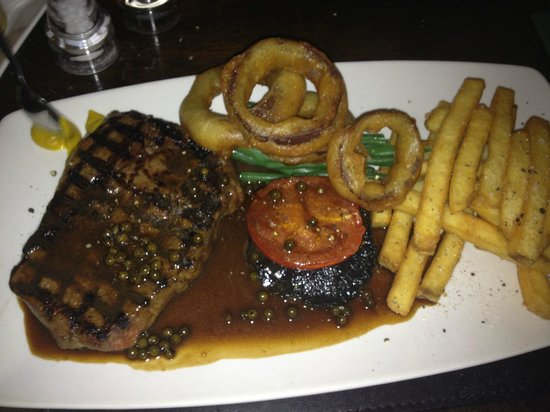 Seasons Restaurant: Rib eye Steak