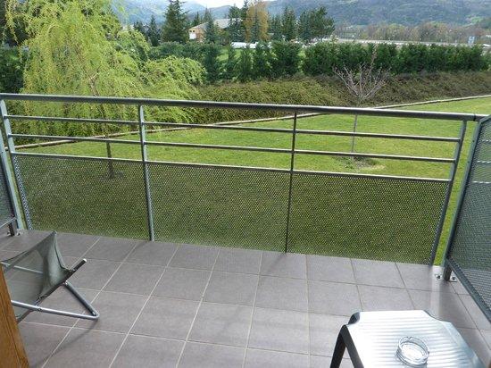Inter-Hotel Le Cap : le balcon