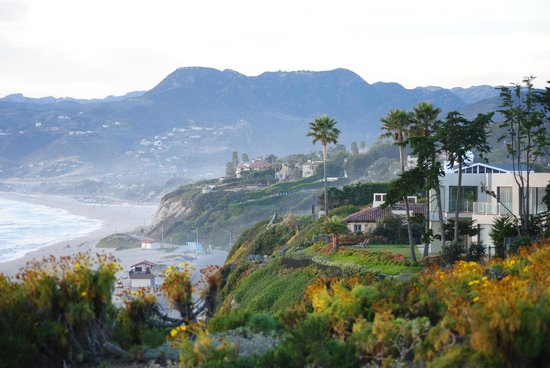 Malibu Country Inn: From the nice trail on bluff above Zuma Beach.