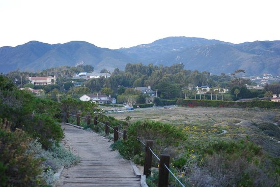 Malibu Country Inn: Nice walk on bluffs above the beach, a few minutes from hotel.