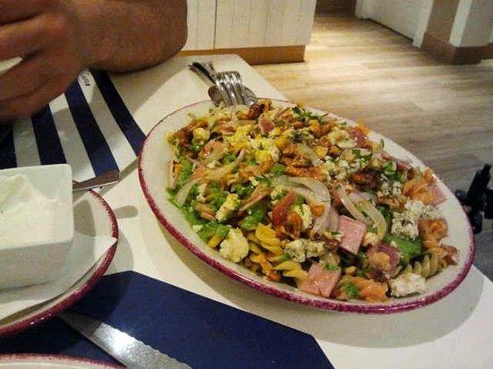 Trattoria la Casetta: Ensalada espinacas