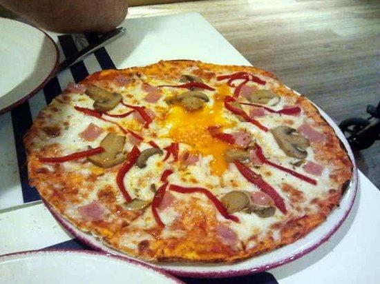 Trattoria la Casetta: pizza 4 stagioni