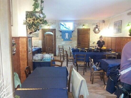 Taverna dei briganti: interno
