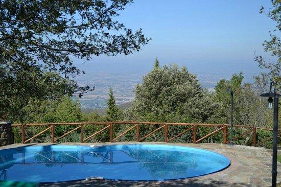 Podere Spinabbio : Panorama dalla piscina