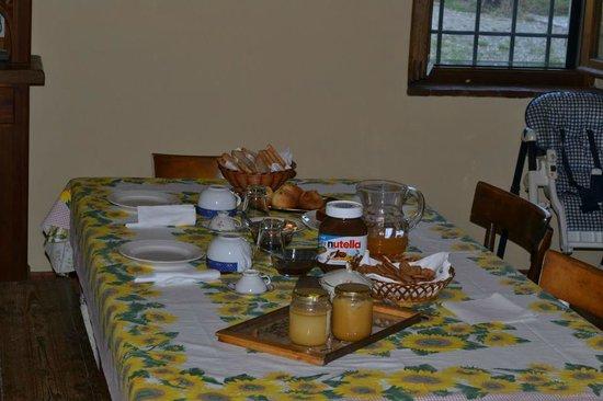 Podere Spinabbio : La colazione