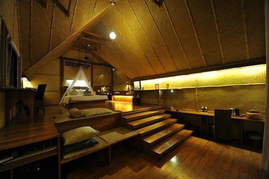 Jetwing Vil Uyana : Vue de la chambre de la porte d'entrée (Water Dwelling)