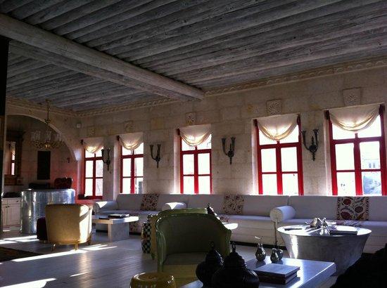 Hezen Cave Hotel : Lobi/Dinlenme/Bekleme