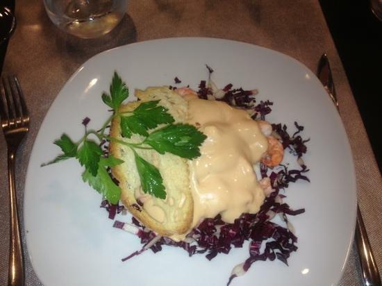 Le Nereidi : cocktail di gamberetti