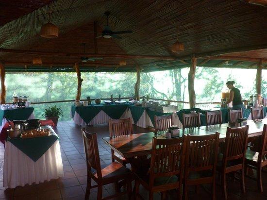 Canyon de la Vieja Lodge: Restaurant