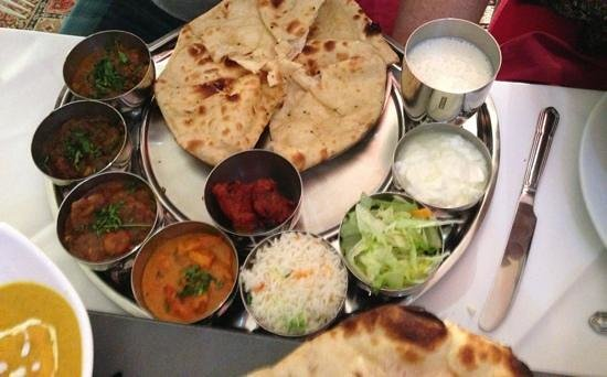 Priya Indian Cuisine: recommend if you can't decide on one dish
