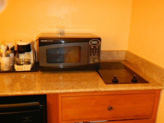 كومفرت إن آند سويتس منطقة بورت كانافيرال: microwave and hot plate