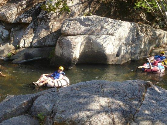 Canyon de la Vieja Lodge: Aktivität bei Hotel