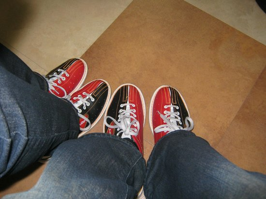 AMF Bowling Center : Our Bowling shoes
