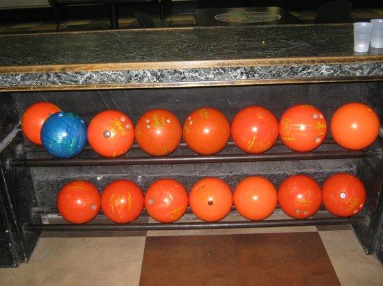 AMF Bowling Center: Bowling Balls