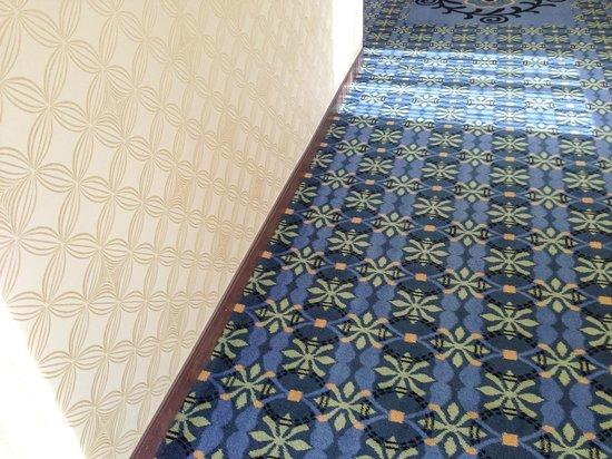Hilton Asheville Biltmore Park: Hallway decor