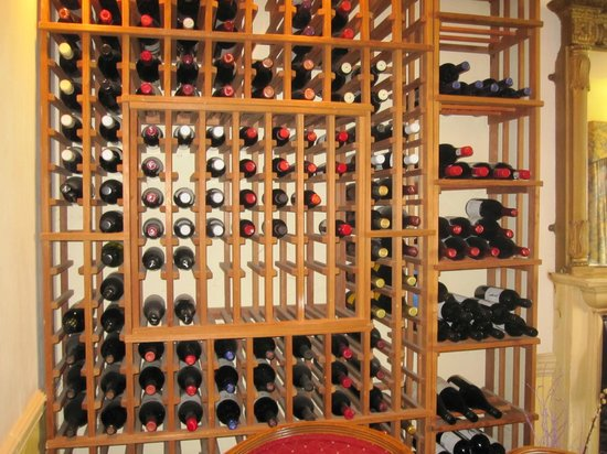 Esseborne Manor: The wine storage