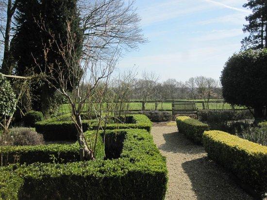 Esseborne Manor: garden in the grounds