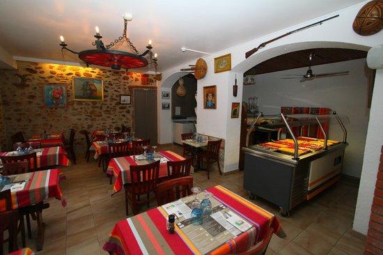 Auberge du Bon Vivant : salle de restaurant