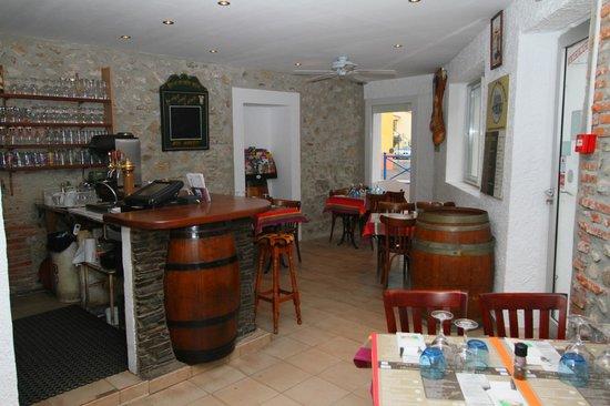 Auberge du Bon Vivant : le bar