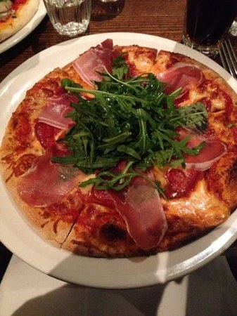 Barkers Wine Bar and Bistro: pizza