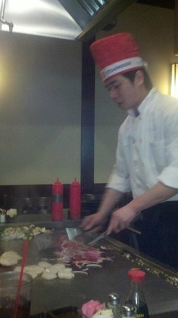 Shogun Japanese Steakhouse: chef