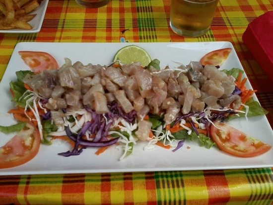 La Licorne: Salade requin Mako