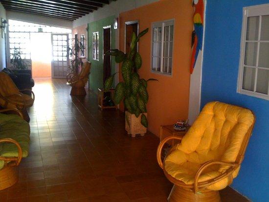 Posada Isla Bonita: area de habitaciones