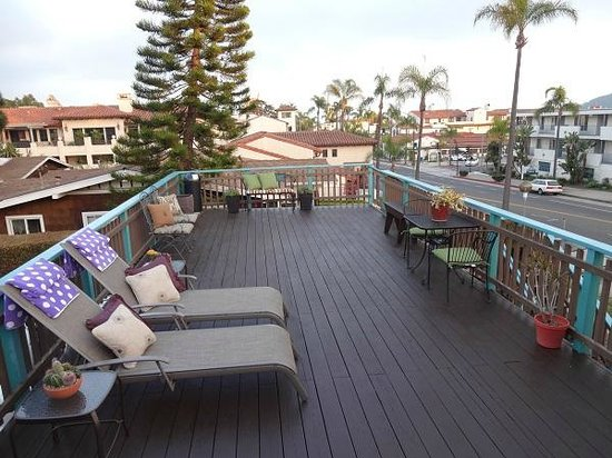 Presidio Motel: Sundeck view