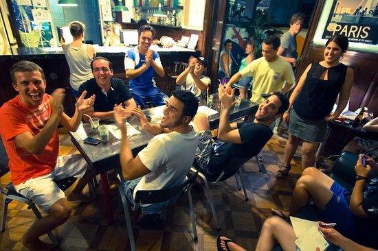 CabanaCopa Hostel: Bar