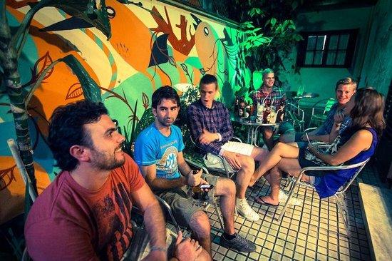 CabanaCopa Hostel: Outdoor area