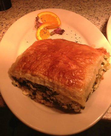 Greek Key Restaurant & Bar: Spanakopita