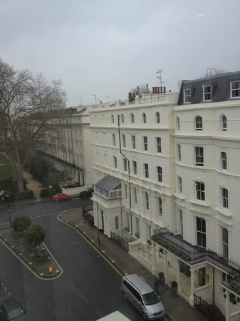 Princes Square Hotel: Room view