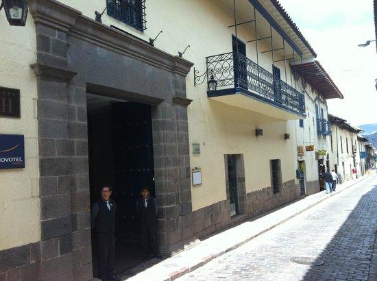 Novotel Cusco: entrada do novotel cuzco