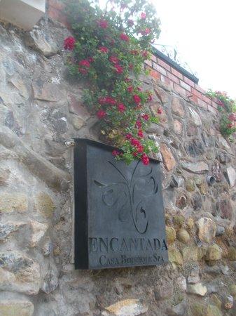 Encantada Casa Boutique Spa: Entrance