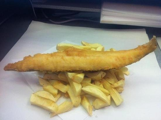 Jolly Fryer: absolutely gorgeous whale and chips every time mm mmm mmmm