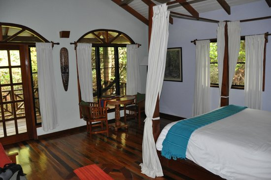 Hamanasi Adventure and Dive Resort: Tree house room