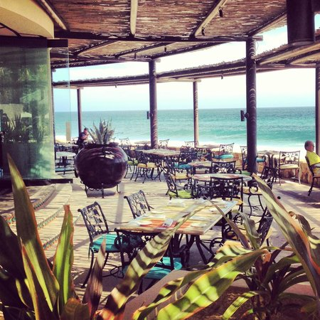 Grand Solmar Land's End Resort & Spa: Where we ate breakfast every morning