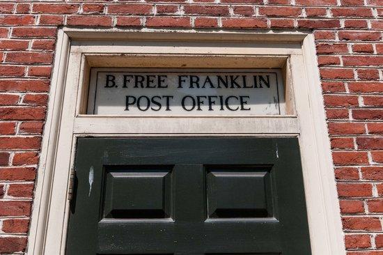 Franklin Court: Franklinu0027s Post Office