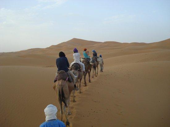 Hotel Kasbah Mohayut: Camel trek