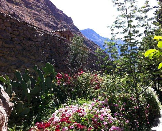 Hotel Samanapaq: Beautiful garden