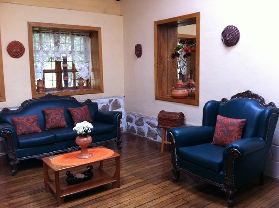 Hotel Samanapaq: Cozy livingroom