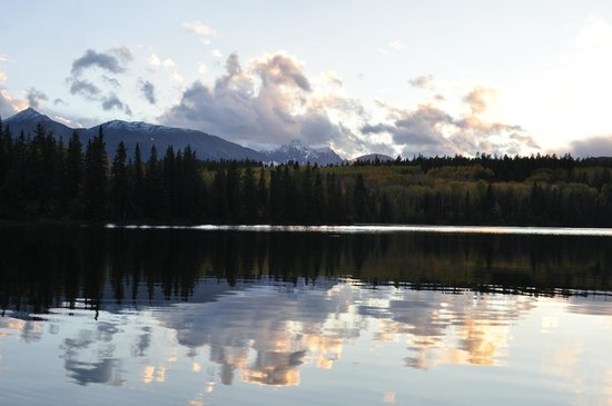 Pyramid Lake Resort: View of the lake