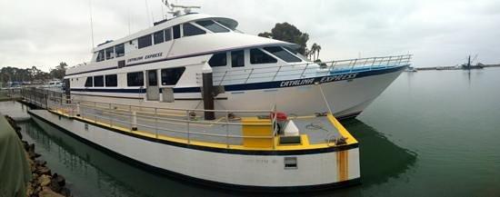 Catalina Island Visitors Bureau: the Catamaron