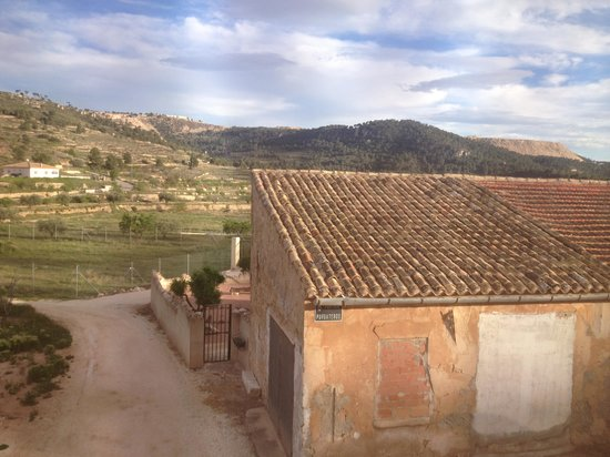 Casa Almendro: View from our room