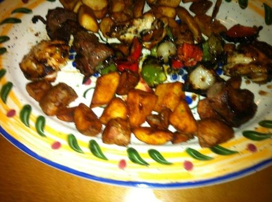 Olive Garden : mixed grill 1