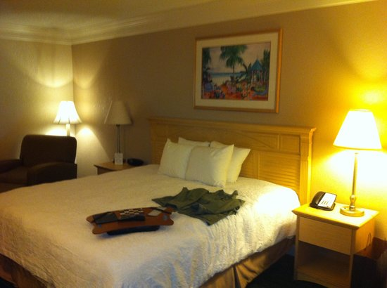 Hampton Inn Ft. Lauderdale Plantation : Quarto