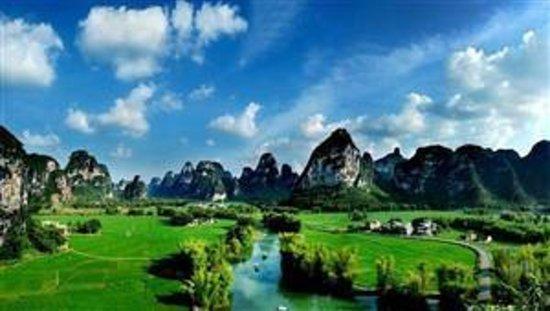 古龙山峡谷群