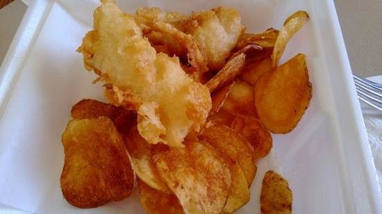 Blue Bike Cafe: Fish and Chips