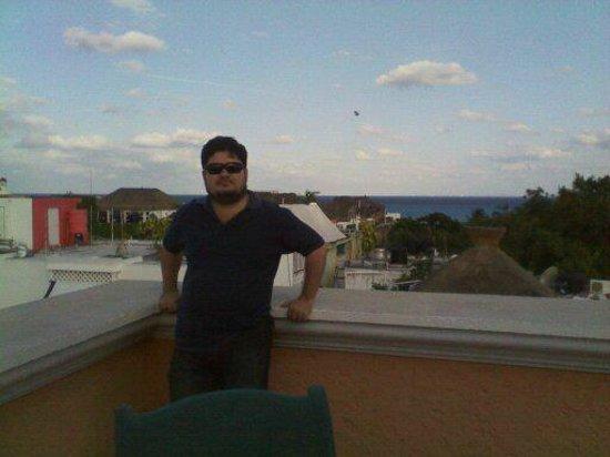 โรงแรมลูนาต้า: Una foto desde el techo con hermosa vista