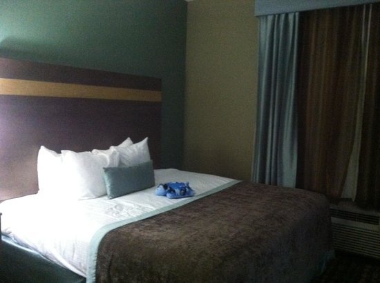 Wingate by Wyndham Bossier City: Comfy beds!